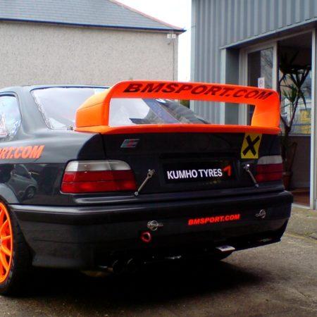 Bmw E36 GTR Heckspoiler Gfk