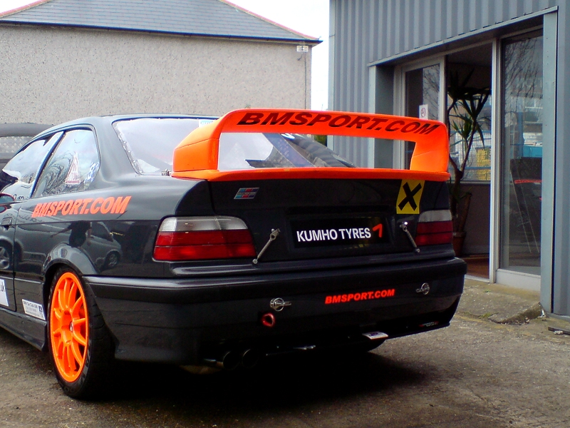 bmw e36 gtr heckspoiler gfk diamondracing. Black Bedroom Furniture Sets. Home Design Ideas
