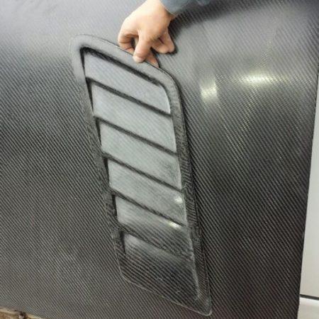 Luft ein/auslässe universell CFK ca.65x25cm