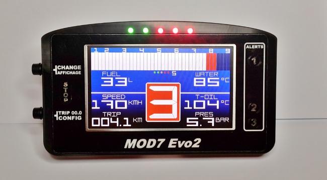 Mod7 Rennsport Tachos jetzt über DiamondRacing zu kaufen